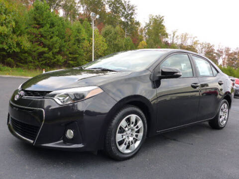 2015 Toyota Corolla for sale at RUSTY WALLACE KIA OF KNOXVILLE in Knoxville TN