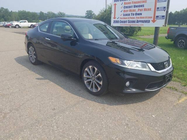 2015 Honda Accord for sale at Sensible Sales & Leasing in Fredonia NY