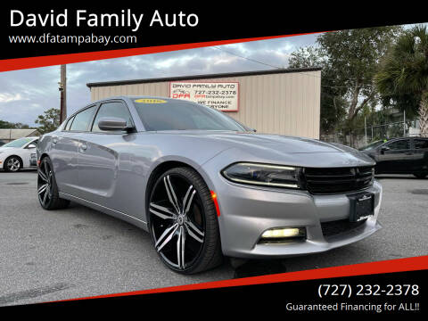 2016 Dodge Charger for sale at David Family Auto in New Port Richey FL