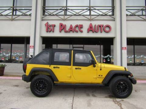 2008 Jeep Wrangler Unlimited for sale at First Place Auto Ctr Inc in Watauga TX