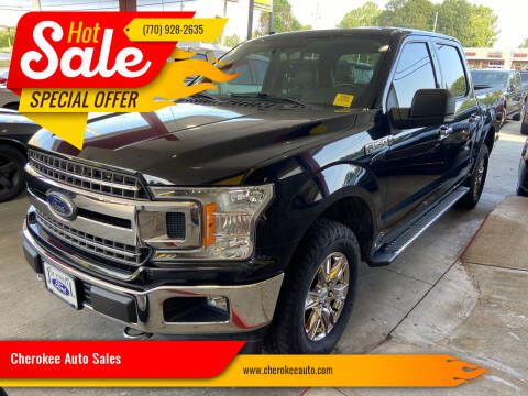 2018 Ford F-150 for sale at Cherokee Auto Sales in Acworth GA