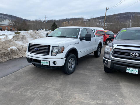 2011 Ford F-150 for sale at Greens Auto Mart Inc. in Wysox PA