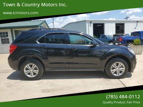 2014 Chevrolet Equinox for sale at Town & Country Motors Inc. in Meriden KS