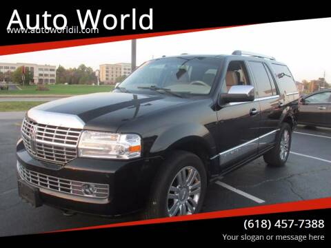 2007 Lincoln Navigator for sale at Auto World in Carbondale IL