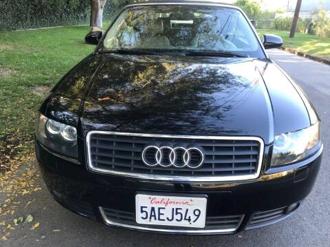 2003 Audi A4 for sale at Car Lanes LA in Valley Village CA