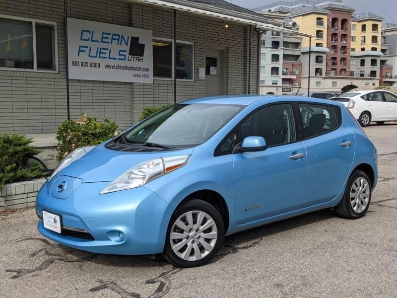 2015 Nissan LEAF for sale at Clean Fuels Utah in Orem UT