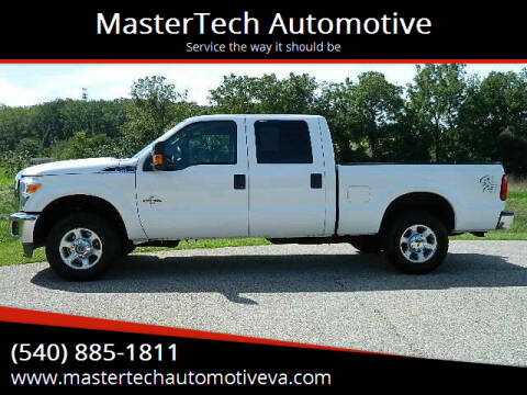 2014 Ford F-250 Super Duty for sale at MasterTech Automotive in Staunton VA
