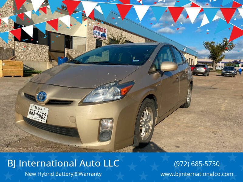 2010 Toyota Prius for sale at BJ International Auto LLC in Dallas TX