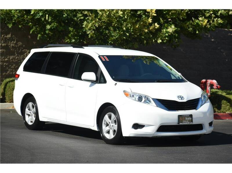 2011 Toyota Sienna for sale at A-1 Auto Wholesale in Sacramento CA
