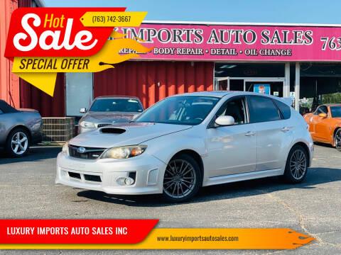 2011 Subaru Impreza for sale at LUXURY IMPORTS AUTO SALES INC in North Branch MN