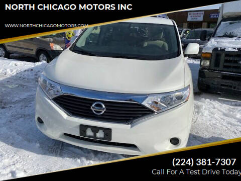 2012 Nissan Quest for sale at NORTH CHICAGO MOTORS INC in North Chicago IL