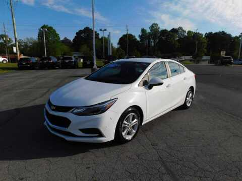 2016 Chevrolet Cruze for sale at Paniagua Auto Mall in Dalton GA