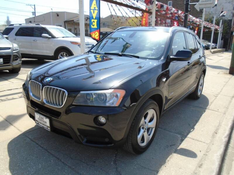 2011 BMW X3 for sale at CAR CENTER INC in Chicago IL