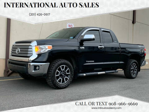 2014 Toyota Tundra for sale at International Auto Sales in Hasbrouck Heights NJ