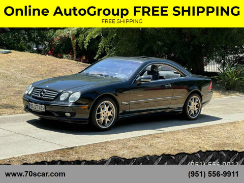 2001 Mercedes-Benz CL-Class for sale at Online AutoGroup FREE SHIPPING in Riverside CA