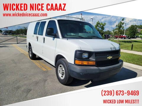 2012 Chevrolet Express Cargo for sale at WICKED NICE CAAAZ in Cape Coral FL