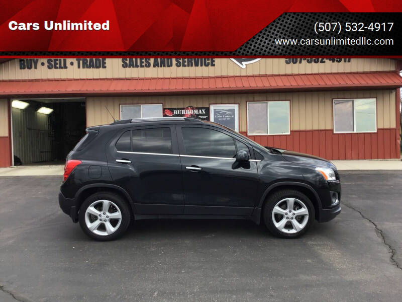 2015 Chevrolet Trax for sale at Cars Unlimited in Marshall MN