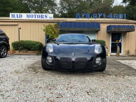 2007 Pontiac Solstice for sale at Mad Motors LLC in Gainesville GA