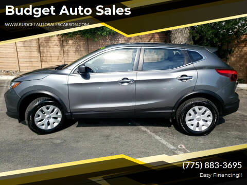 2018 Nissan Rogue Sport for sale at Budget Auto Sales in Carson City NV
