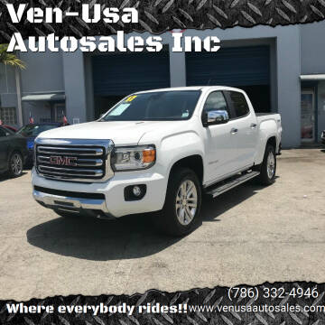 2017 GMC Canyon for sale at Ven-Usa Autosales Inc in Miami FL
