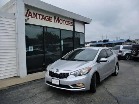 2014 Kia Forte for sale at Vantage Motors LLC in Raytown MO