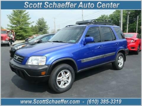 2001 Honda CR-V for sale at Scott Schaeffer Auto Center in Birdsboro PA