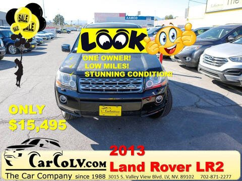 2013 Land Rover LR2 for sale at The Car Company in Las Vegas NV