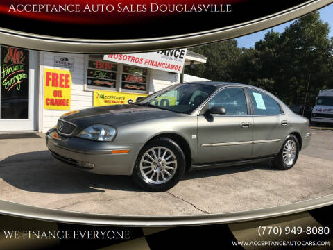 2002 Mercury Sable for sale at Acceptance Auto Sales Douglasville in Douglasville GA