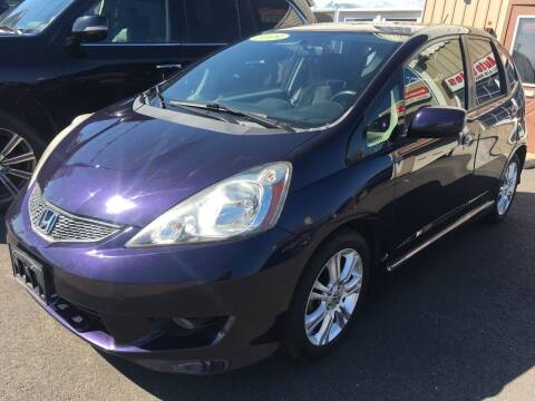 2009 Honda Fit for sale at Dijie Auto Sale and Service Co. in Johnston RI