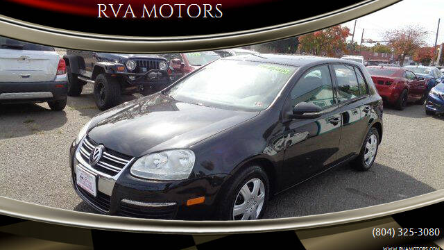 2013 Volkswagen Golf for sale at RVA MOTORS in Richmond VA