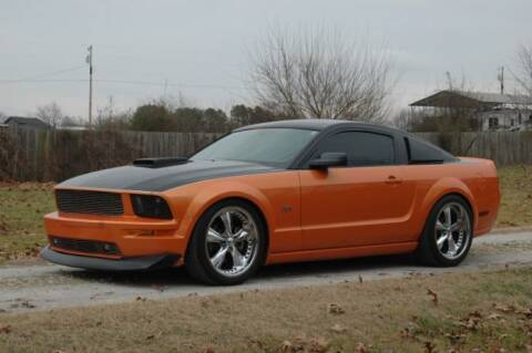 2007 Ford Mustang for sale at Classic Car Deals in Cadillac MI