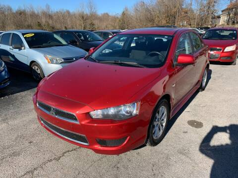 2012 Mitsubishi Lancer for sale at Best Buy Auto Sales in Murphysboro IL