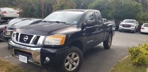 2010 Nissan Titan for sale at Central Jersey Auto Trading in Jackson NJ