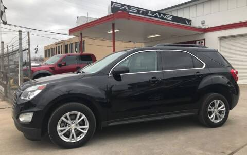 2016 Chevrolet Equinox for sale at FAST LANE AUTO SALES in San Antonio TX