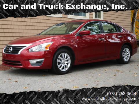 2015 Nissan Altima for sale at Car and Truck Exchange, Inc. in Rowley MA