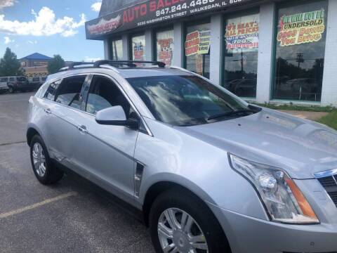 2010 Cadillac SRX for sale at Washington Auto Group in Waukegan IL
