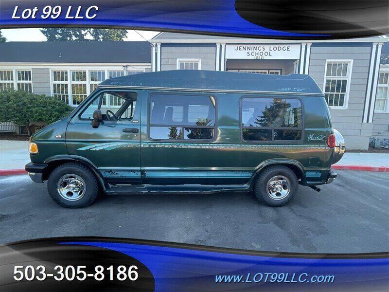 1995 Dodge Ram Van for sale at LOT 99 LLC in Milwaukie OR