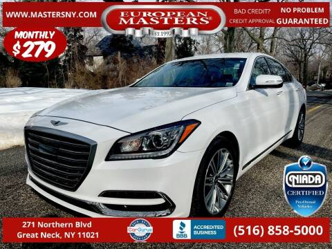 2018 Genesis G80 for sale at European Masters in Great Neck NY