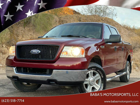 2005 Ford F-150 for sale at Baba's Motorsports, LLC in Phoenix AZ