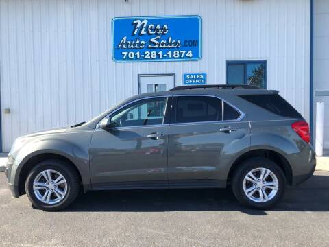 2013 Chevrolet Equinox for sale at NESS AUTO SALES in West Fargo ND
