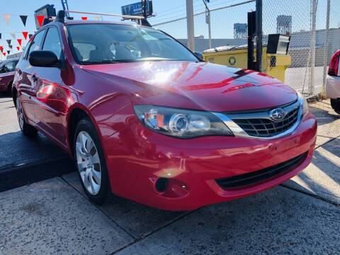 2008 Subaru Impreza for sale at GW MOTORS in Newark NJ