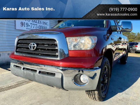 2008 Toyota Tundra for sale at Karas Auto Sales Inc. in Sanford NC
