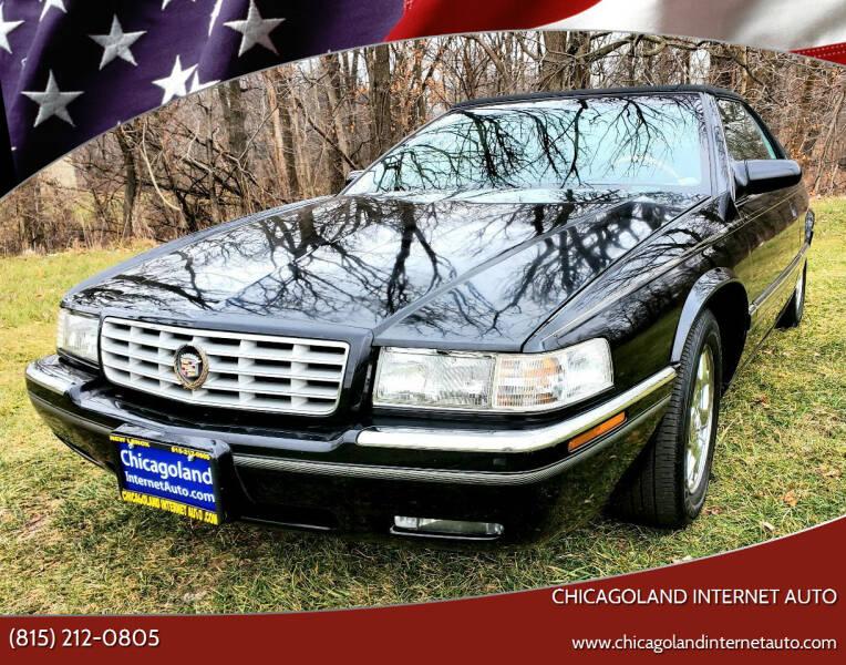 2001 Cadillac Eldorado for sale at Chicagoland Internet Auto - 410 N Vine St New Lenox IL, 60451 in New Lenox IL
