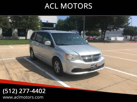 2011 Dodge Grand Caravan for sale at ACL MOTORS in Austin TX