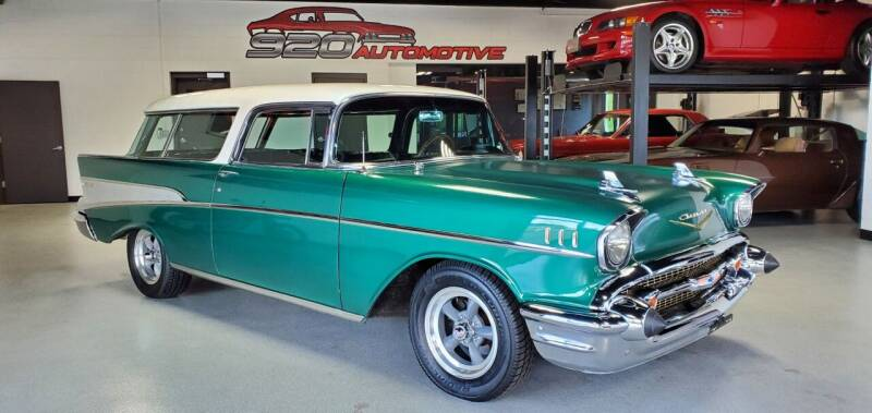 1957 Chevrolet Bel Air for sale at 920 Automotive in Watertown WI