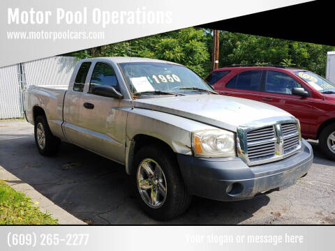 2007 Dodge Dakota for sale at Motor Pool Operations in Hainesport NJ