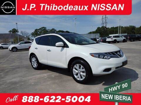 2011 Nissan Murano for sale at J P Thibodeaux Used Cars in New Iberia LA