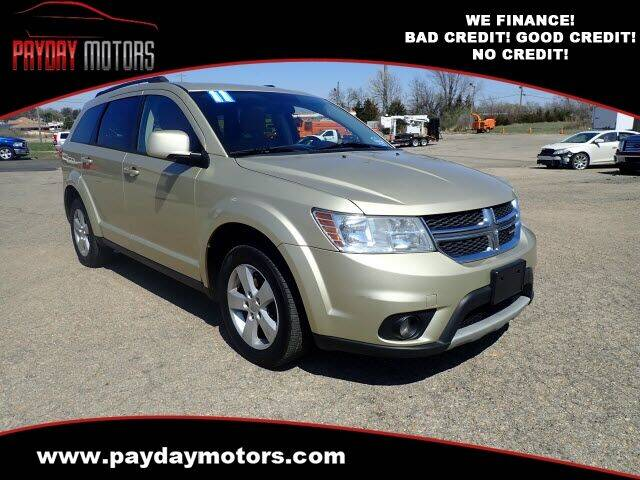 2011 Dodge Journey for sale at Payday Motors in Wichita And Topeka KS