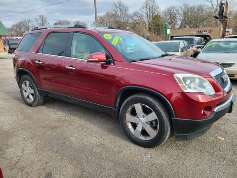 2011 GMC Acadia for sale at Johnny's Motor Cars in Toledo OH