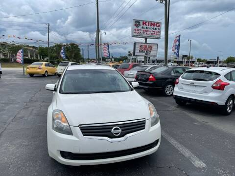 2007 Nissan Altima for sale at King Auto Deals in Longwood FL